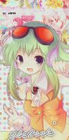 Graphics Battle | Gumi Mpoid by siti97