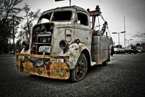 Rusted Wrecker by skyhigh90210