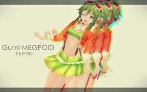 MMD Extend Gumi by RinRinTyaan