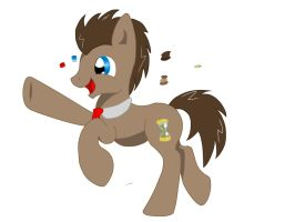 ~WIP~ Doctor Whooves by MLP-Gear