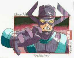 CW - Galactus by KerrithJohnson
