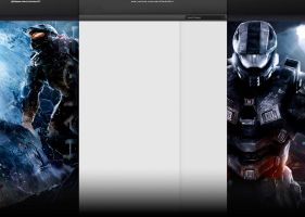 Halo 4 YT Layout by Sanctuaryx3