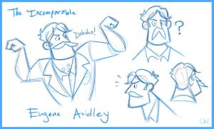 Victorian Explorers :: Avidley Sketches by Inonibird