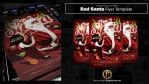 Bad Santa Flyer Template by prassetyo