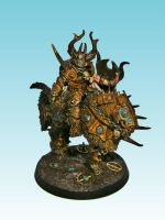 Mounted Chaos Lord by nergling