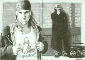 Jay and Silent Bob by HaydenDavis