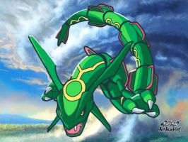Rayquaza by MorbiusMonster