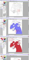 Plesiodragon Coloring Tutorial by Icedragon300