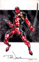 Deadpool: Over Here by ToddNauck