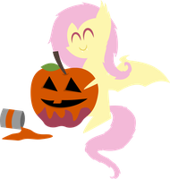 Spooky Flutterbat's Countdown to Halloween Day 4 by V0JELLY