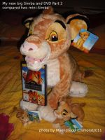 New Simba with Beanies and DVD by MoondragonEismond