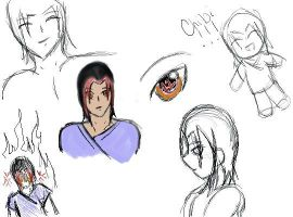 Shun sketch dump by 110animegirl