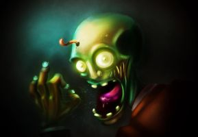 Gregor the Zombie by The-fishy-one