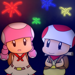 Fireworks while Exploring by Toadettegirl123306