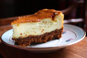 Lemon and Speculoos Cheesecake by Melhyria