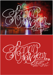 Typography - Happy New Year 2015 by julie0311