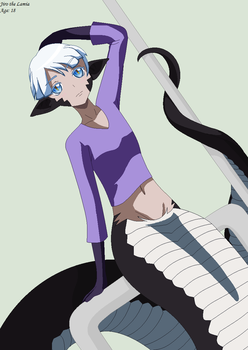 Jiro the Lamia by Gaara-Rocks-12