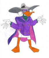 Darkwing Shrugging by DarkwingDrake