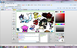 iScribble drawing again :B by pikachumasterfriends