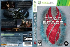 Dead Space 3 cover design by bulletreaper117