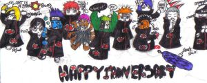 MY Happy belated Anniversary by OctoberReign