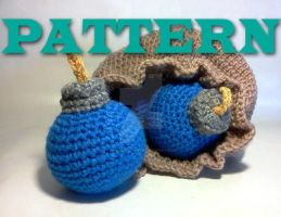 EXCLUSIVE! Original pattern for the bomb bag set! by ZombieVoltaire