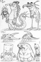 more critters doodles by Axel13-Gallery