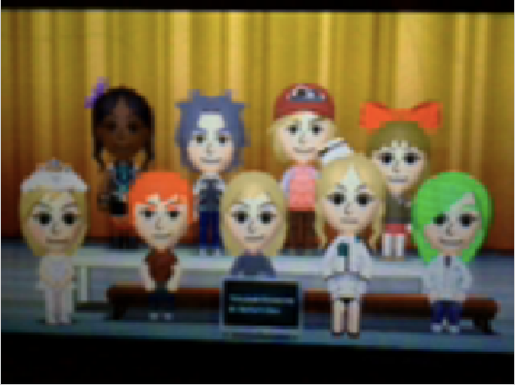 The final nine in Tomodachi Life by WonderDuster