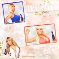 Nicki Minaj Png Pack by SuBiebs