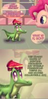 The Thoughts of a Baby Alligator by pshyzo