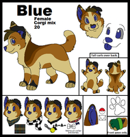 Blue Ref by Miiroku