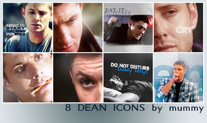 8 Dean Icons :2: by mummy16