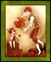 Tomato pickers by skytabula
