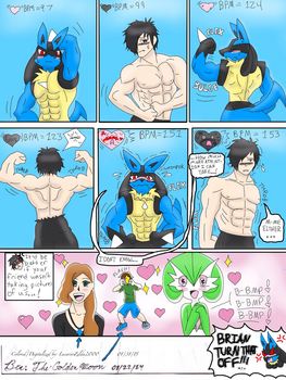 Muscle Show (Digital edition) by TheGoldenMoon