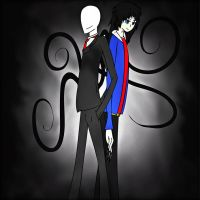 #4 Request for Requiem of Ice - Stephen K.+Slender by Laxianne