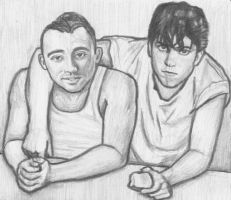 Nicola Formichetti and Jo Calderone by gagambo