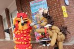 Balloon Dalek and Doctor Whooves by NoOrdinaryBalloonMan