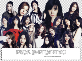 Pack 12 PNGs SNSD by MinhhNa