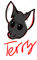 Terry The BatDog by nutellawarriorcatfan
