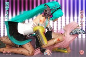Miku and Luka: Love Magnet by Axel-Doi