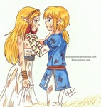 BOTW: I'll never leave you by Kisarasmoon