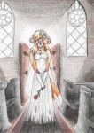 Lonely at the altar by PoonieFox