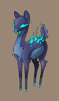 Fakemon: Ghostalope by Stumppa