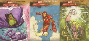 Even MORE Marvel cards by RyanOttley