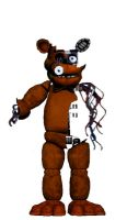 Withered Fnaf 1 Freddy  (ver 2) by Doctorlysum