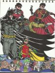 A Batman and his Robins by oZUNDERo