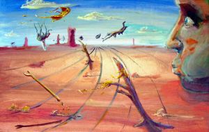 Dali-Painting by GuntherSwanh
