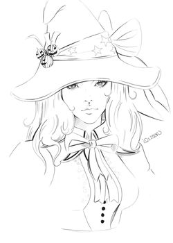 Witch by iQU33N