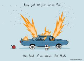 Your car's on fire by sebreg