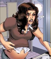 Pregnant Kitty Pryde by StraightUp123